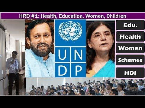 BES176/Human Dev#1: Health, Education, Women- Schemes, Policies, Apps & Portals