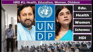 BES176/Human Dev#1: Health, Education, Women Schemes, Policies, Apps & Portals