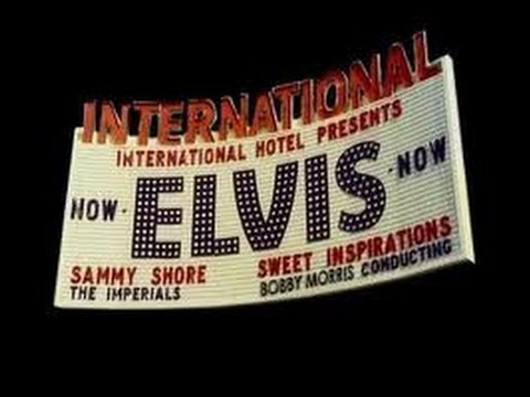 Elvis Rehearsing At the Las Vegas International Hotel August 1970