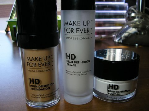 Make Up For Ever High Definition Products Review - YouTube