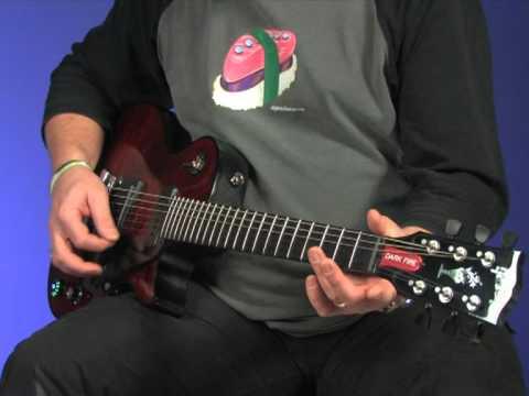 Gibson Dark Fire video review demo Guitarist Magazine