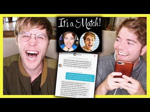 READING OUR TINDER CONVERSATION with GARRETT!