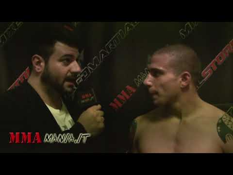 "Luca ""The Ace"" Vitali Post Match MILANO IN THE CAGE 3"