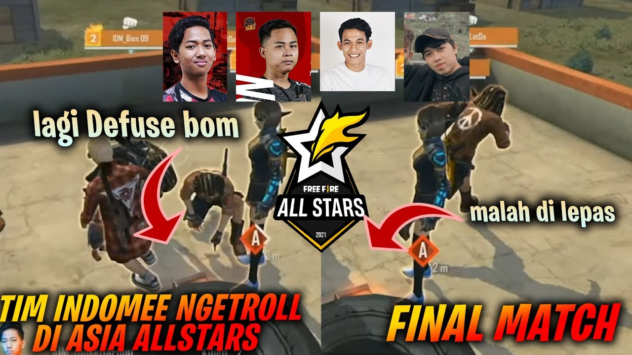Mic Check Final Tim Indomee !! Bion , Gardu , Fdw , Letda Ngeprank DI Final FFAS Lawan Vietnam !