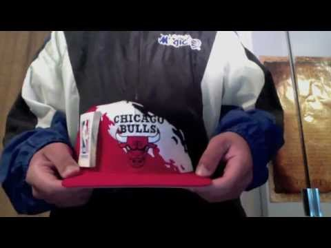 Fresh Pickups  5 - Chicago Bulls Paintsplash Snapback - YouTube 59fad3fec28