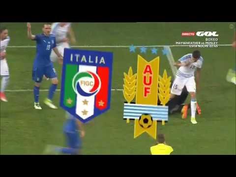 Италия - Уругвай 3:0 видео