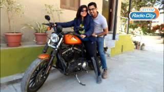 RJ Radhika with Akhilee who gifted her husband Harley Davidson | RadioCity 91.1 FM