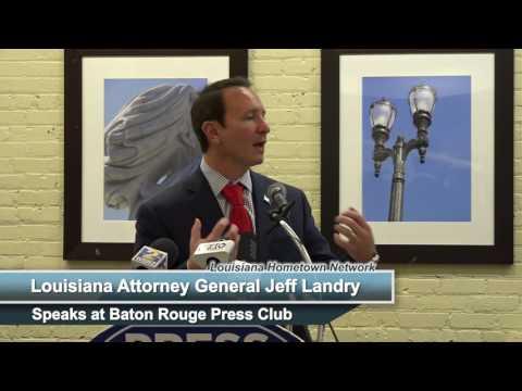 Louisiana Attorney General Jeff Landry at Press Club
