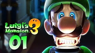 GREEN MARIO RETURNS - Luigi's Mansion 3 Playthrough (Part 1)