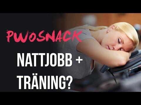 Pre Workout Snack: 92 - Nattjobb + Träning?