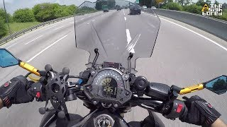 Kawasaki Z900 KEMiMOTO windshield install and review