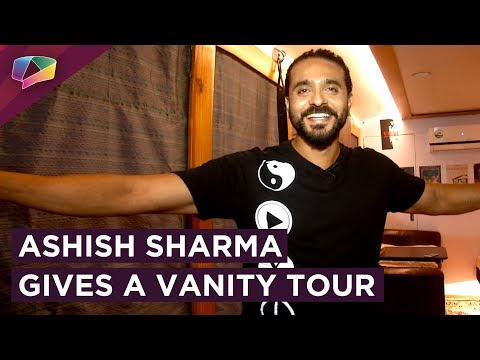 Ashish Sharma Gives India Forums His Vanity Tour | Peek Into The Vanity | Prithvi Vallabh | Exclusiv
