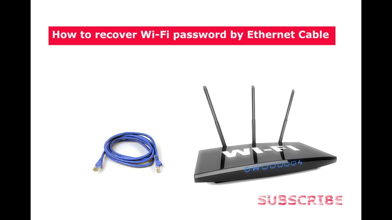 How To Hack, Recover And Change Wifi Password By Pc And -8357