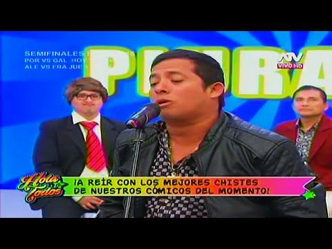 HOLA A TODOS 06/07/16 DIVERTIDA RUEDA DE CHISTES CON NABITO, PETETE, EL JHONY Y FREJOLITO Jr.half