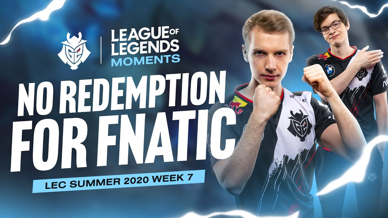 No Redemption for Fnatic | LEC Summer 2020 Week 7 Moments