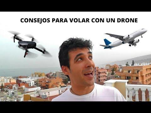 Consejos para volar con un drone a otro país