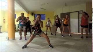 Coreografia Zumba Fitness Pra Frente - Ivete Sangalo