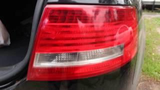 Audi a6 c6 снятие заднего фонаря