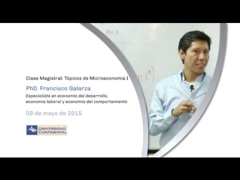 Clases magistrales en economía: Tópicos de microeconomía I