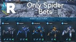 War Robots: New Skirmish Mode - Only Spider Bots [1.7 Million Damage]