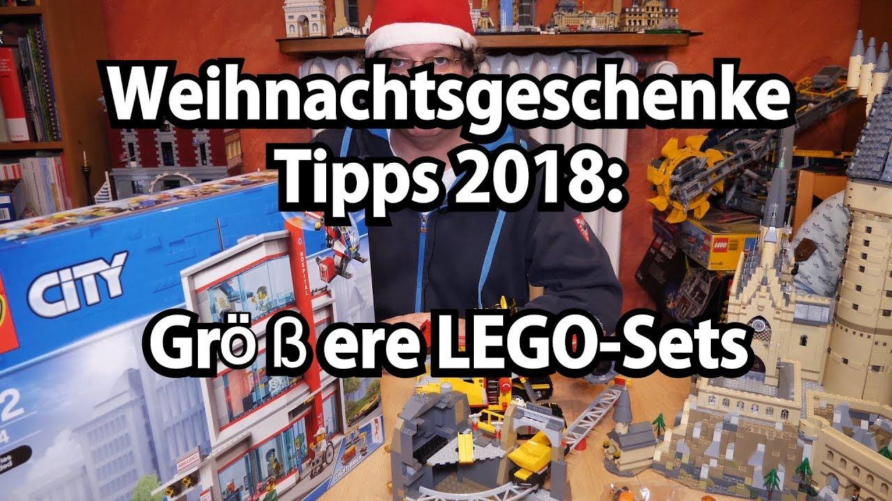 Tipps Weihnachtsgeschenke.Lego Weihnachtsgeschenke Tipps 2018 Größere Sets