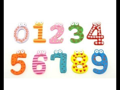 Spelling numbers 0-9 - YouTube