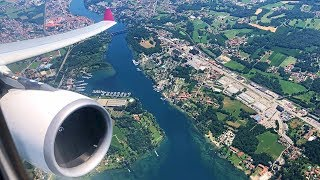 EPIC ENGINE ROAR | Air Italy A330-200 Takeoff from Milan Malpensa Airport!