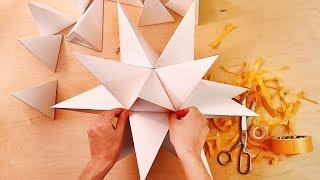 Большой звездчатый додекаэдр многогранник из бумаги, star polyhedron
