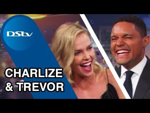 Charlize Theron on The Daily  with Trevor Noah