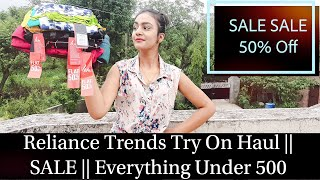 Huge Reliance Trends Try On Haul || Affordable Fashion || Everything under 500