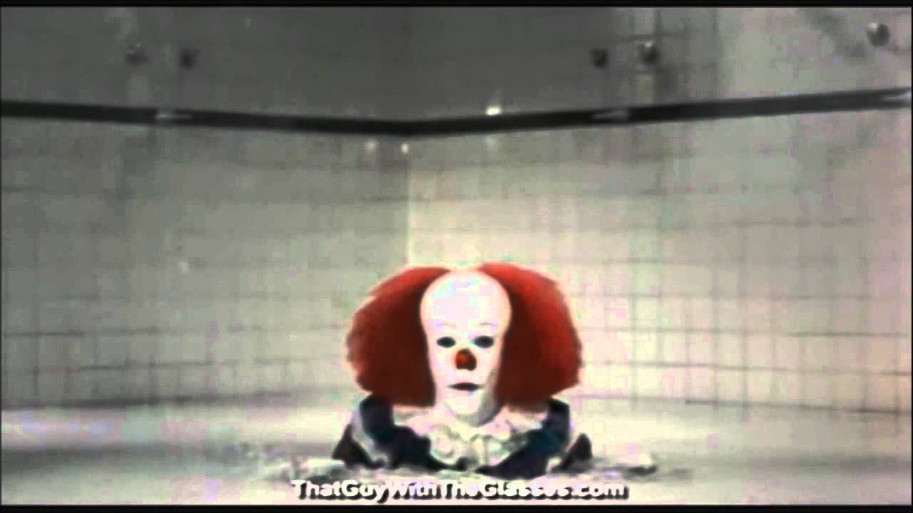 It Shower Drain Scene.Pennywise The Clown Stares Awkwardly At Eddie While I Play Fitting Music