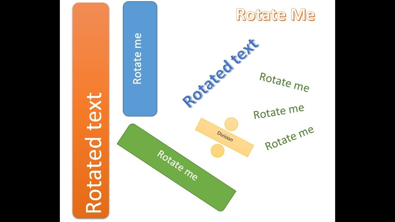 Rotate Text in Microsoft Word – vertical, angled & flipped