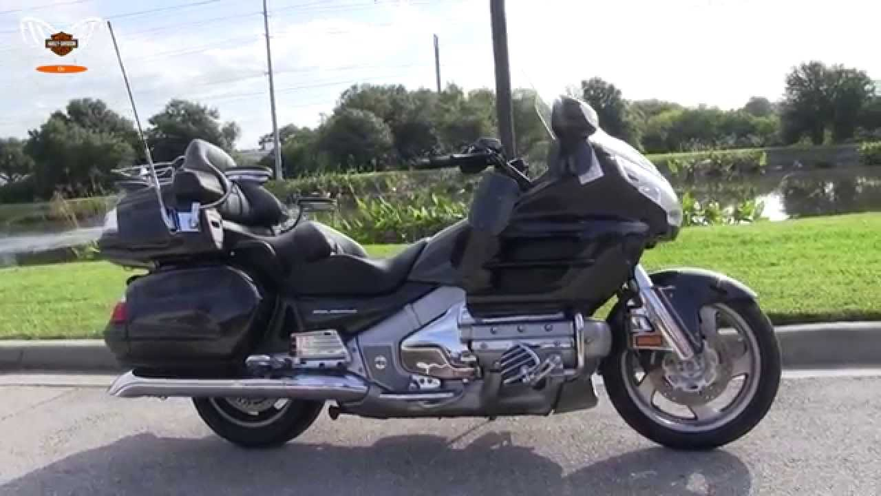 used 2010 honda goldwing motorcycle for sale in tampa florida youtube. Black Bedroom Furniture Sets. Home Design Ideas