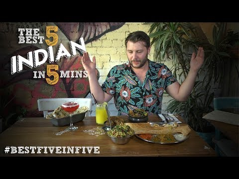 Melbourne's Five Best Indian Restaurants In Five Minutes With Tim Hewitt