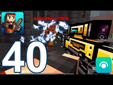 Pixel Gun 3D - Gameplay Walkthrough Part 40 - Electro Blast Rifle (iOS, Android)