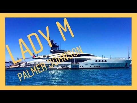 Mega Yacht LADY M by Palmer Johnson visit ibiza & Formentera