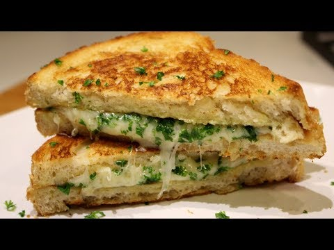 Grilled Cheese Garlic Bread French Toast