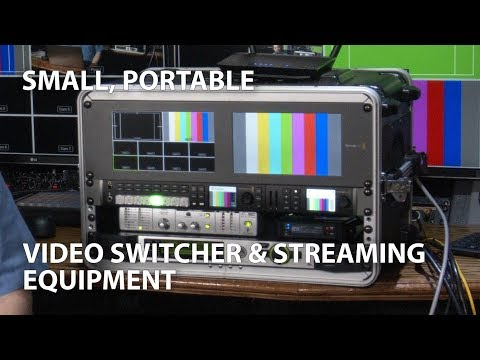 Small, Portable Live Video Production/Streaming Rig