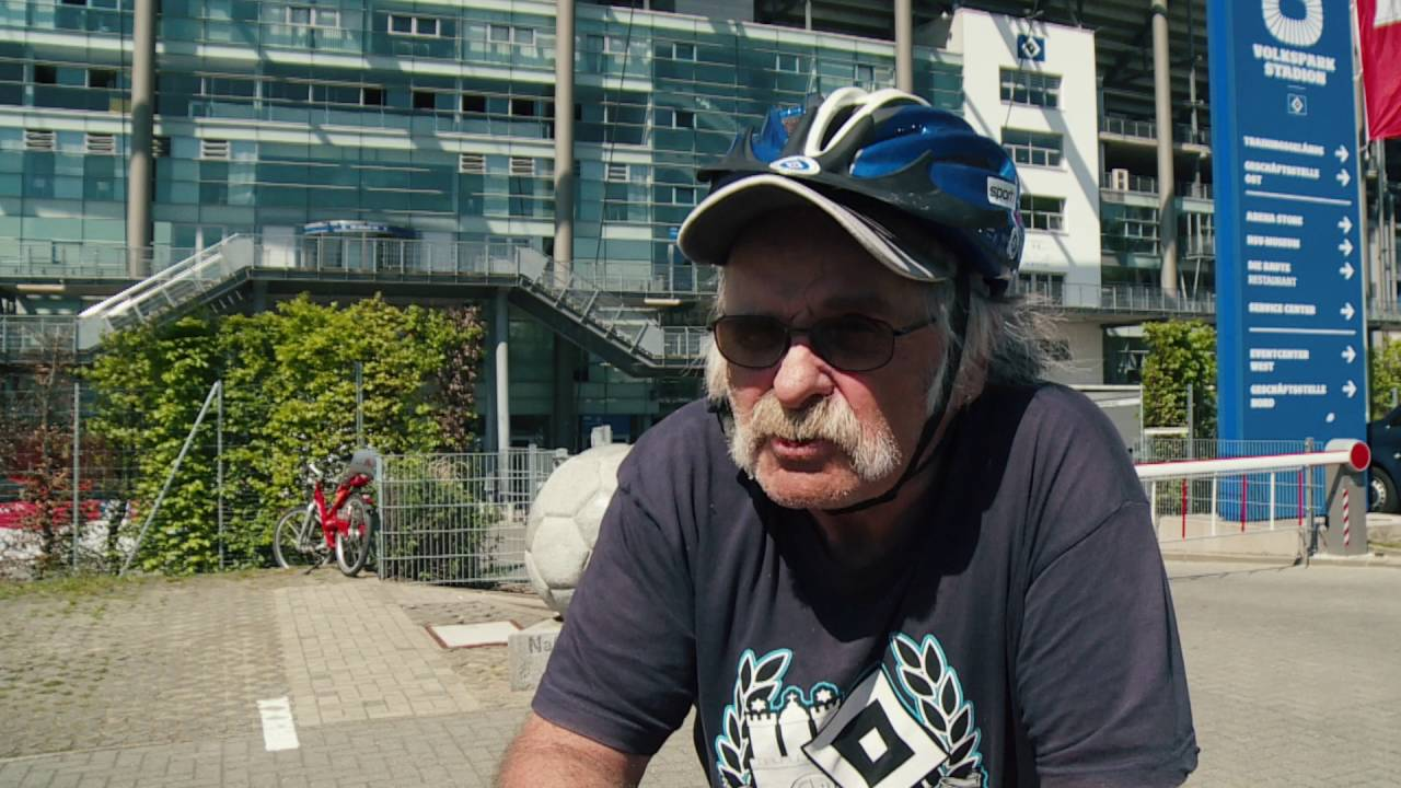 HSV Fan zum Rauswurf von Jaroslav Drobny
