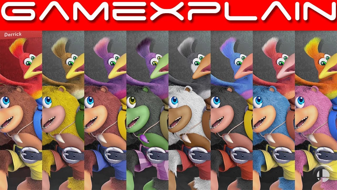 5 Minutes of Banjo-Kazooie Gameplay on Spiral Mountain Stage in Super Smash  Bros  Ultimate!