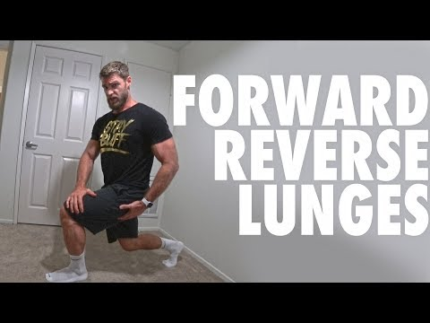 How to Perform Forward and Reverse Lunges | Bodyweight Exercise Tutorial