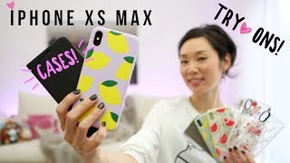 iPhone XS Max GOLD ♥ CASE UNBOXINGs + GIVEAWAY (Closed)!