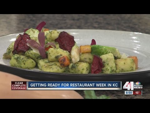 Restaurant week: vegetarian dishes