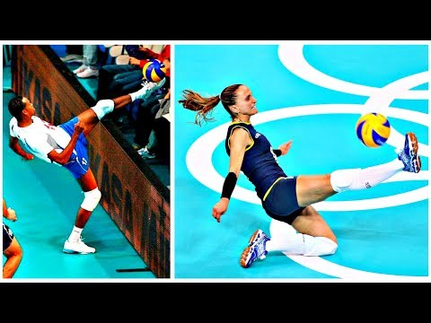 Best Volleyball Foot Saves (HD)