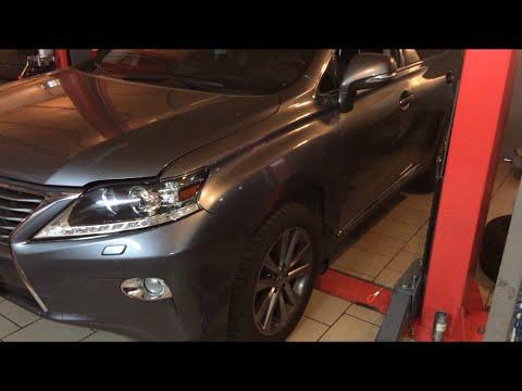 Как поменять масло Lexus RX 350
