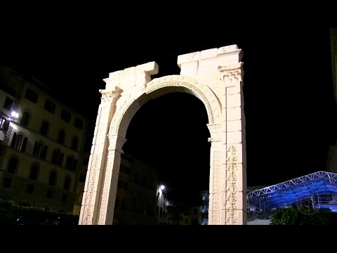 """EXPOSED! Illuminati """"Arch of Baal"""" unveiled at Elite Party (R$E)"""