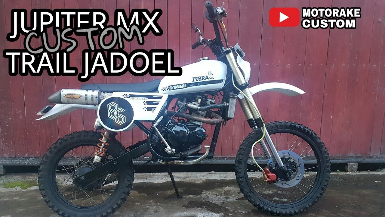 Trail Jadul Modifikasi Jupiter Mx