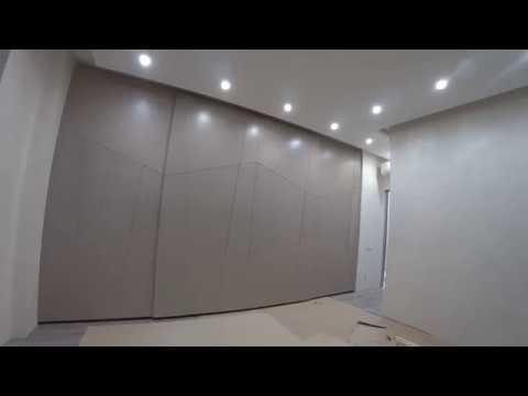 Шкаф и 3-D двери .Часть 2 . Caimi подвесная раздвижная система . IDEASTUDIO DNEPR , Киев .