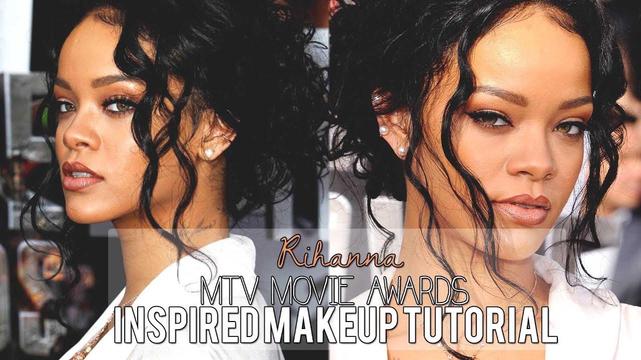 rihanna inspired makeup tutorial 2014 youtube