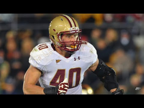 Best LB in Boston College Football History || Boston ...